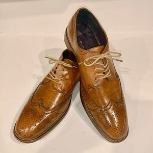 Joseph Abboud burnished leather.